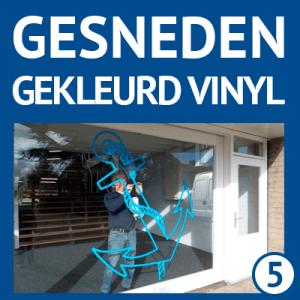 vinyl-gekleurd-gesneden